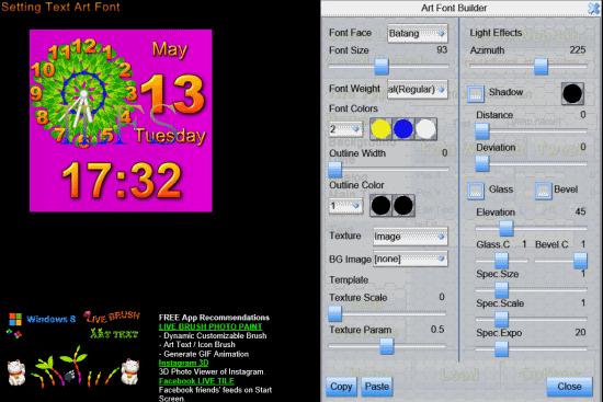 Tile Gadget- Add Text