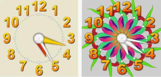 Tile Gadget- Draw analog clock
