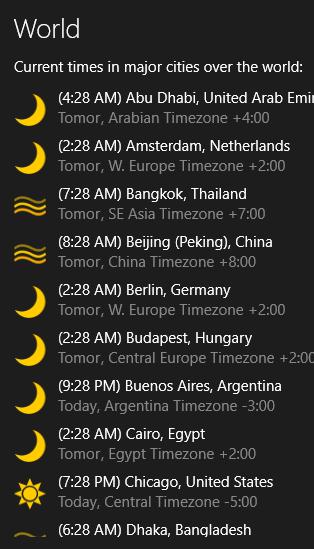 TimeMe Tile- World