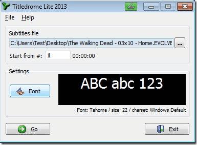Titledrome Lite Subtitle Player