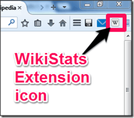 Wikistats Extensions icon