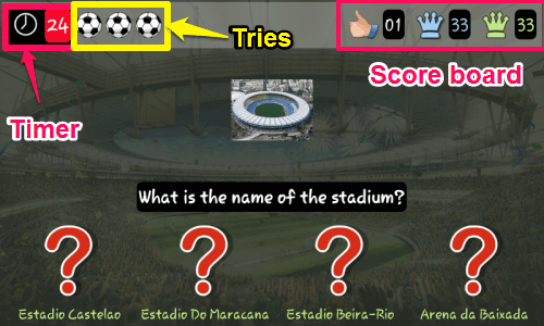 World Cup Trivia 2014-game questionaire