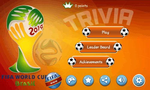 World Cup Trivia 2014-homepage