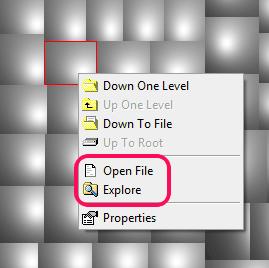 access original location of a particular file