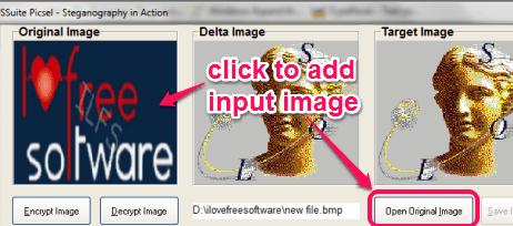 add input image