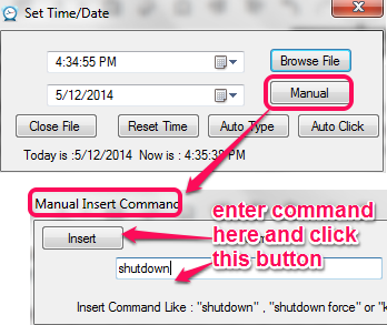 add pc shutdown command