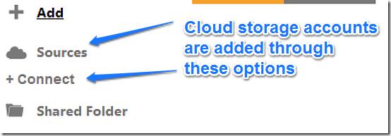 adding cloud services step 1