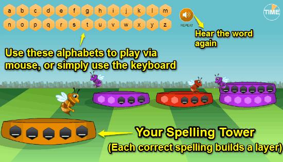 arcademics spellbee