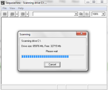 auto scan hard disk