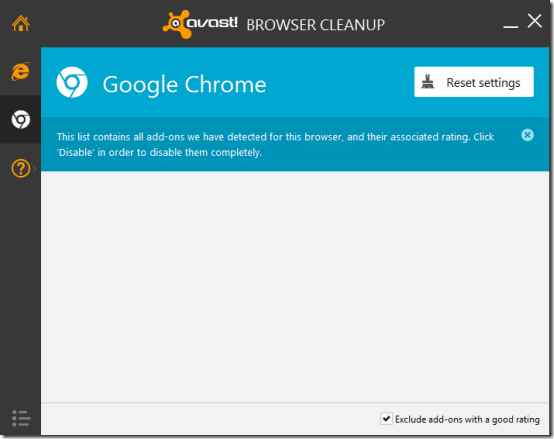 avast browser cleanup header