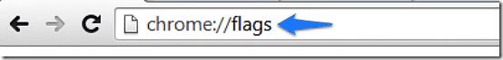 chrome flags access