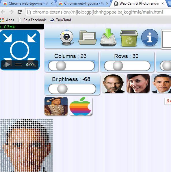 chrome offline webcam extensions 1-1