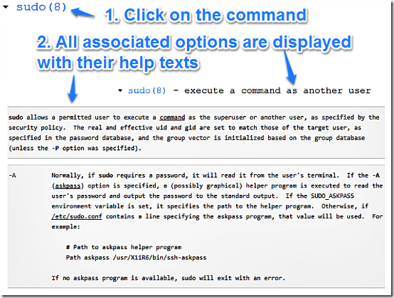command explained