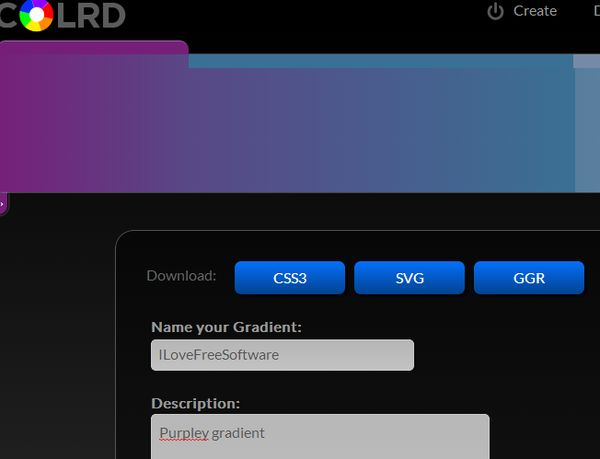 css gradient creator apps google chrome