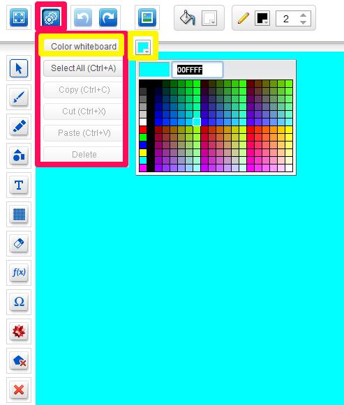 eduWeaver-Change board color