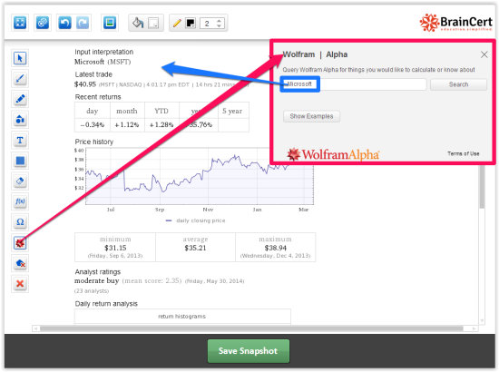 eduWeaver-Wolfram alpha