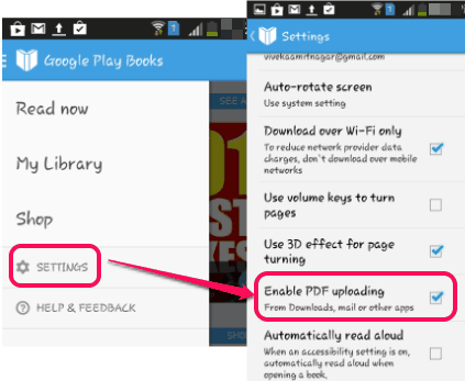 How to Upload Your Own eBooks To Google Play Books
