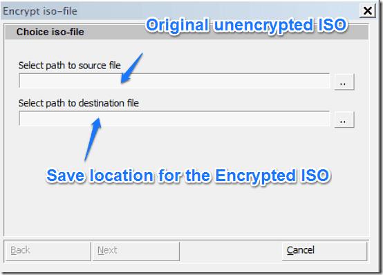 encrypt iso