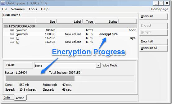 encryption diskcryptor