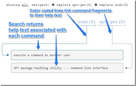 explainshell commands1