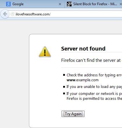 firefox website blocker addons