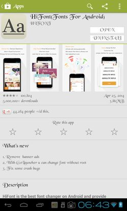 font apps for android 1