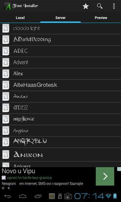 font apps for android 4