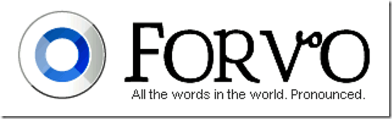forvo header