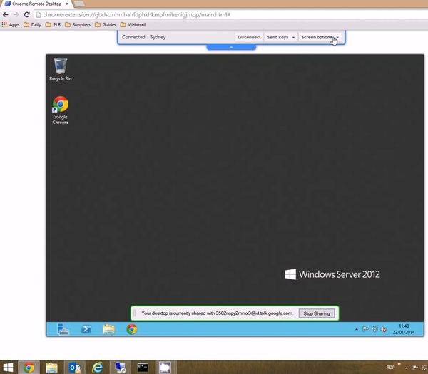 google chrome remote desktop 1