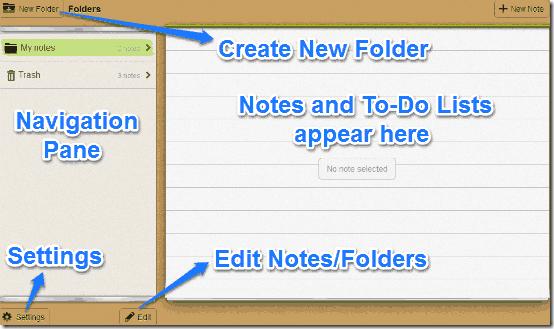 mobisle notes web ui