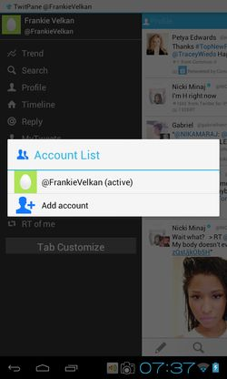multiple accounts twitter apps android 6