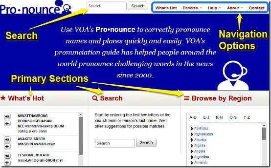 pronounce voa