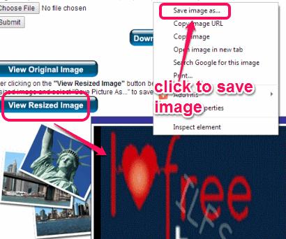 save output image
