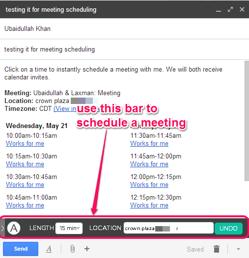 schedule meetings with Assistant.to