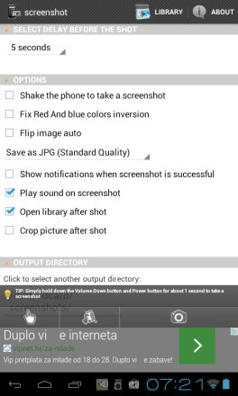 screenshot taking apps android 4