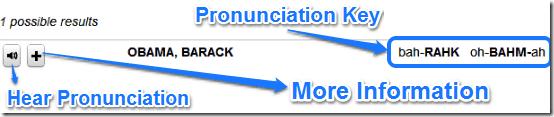 search result pronounce