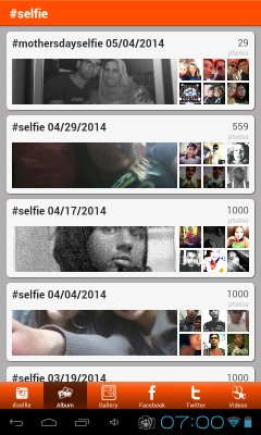 selfie taking apps android 4