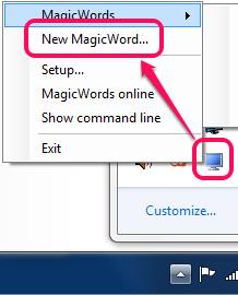set a new magic word