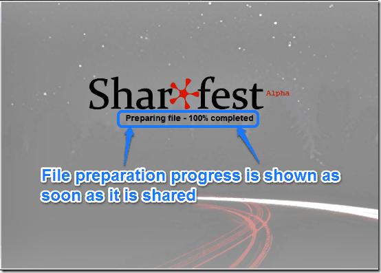 sharefest transfer step 1