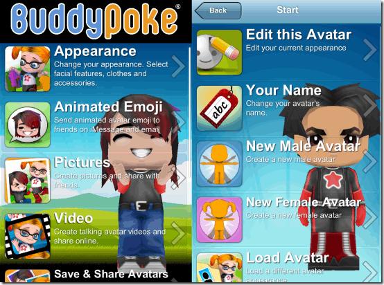 3D Avatar Creator Homepage