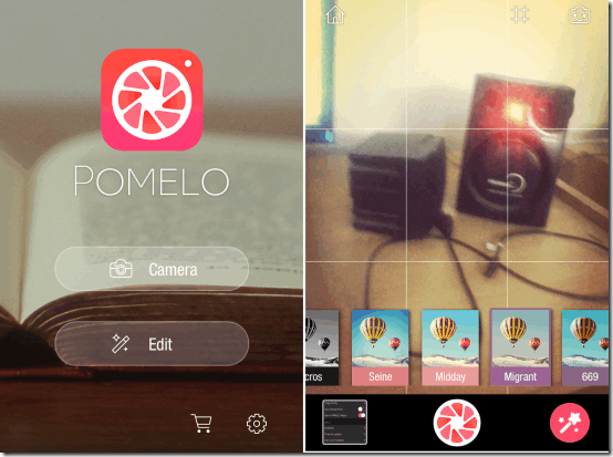 iPhone App to Add LIVE Effects to Camera Photos: Pomelo
