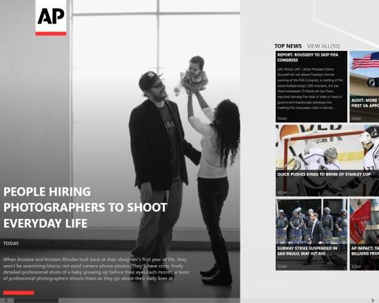Associated Press-Home