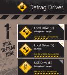Auslogics Disk Defrag Touch