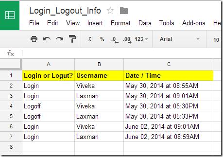 Automatic_Login_Logout