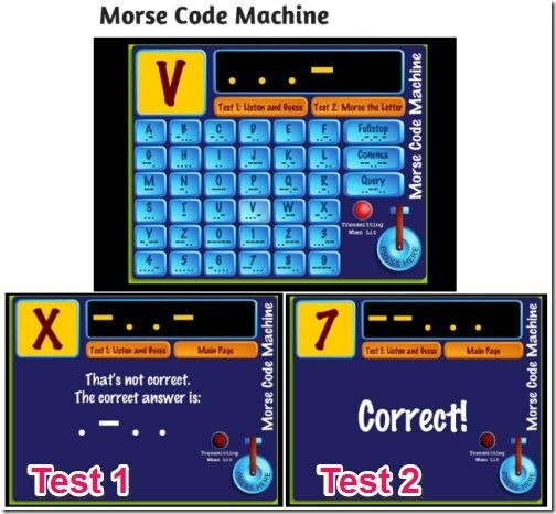 Boys' Life-Morse Code Machine