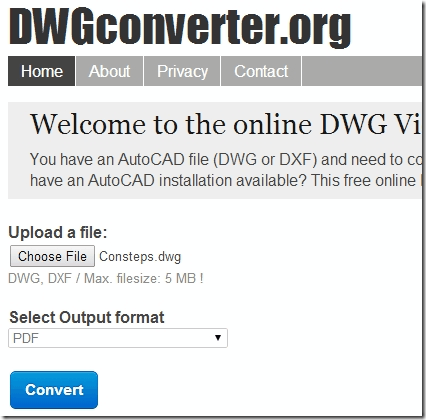 DWGconverter