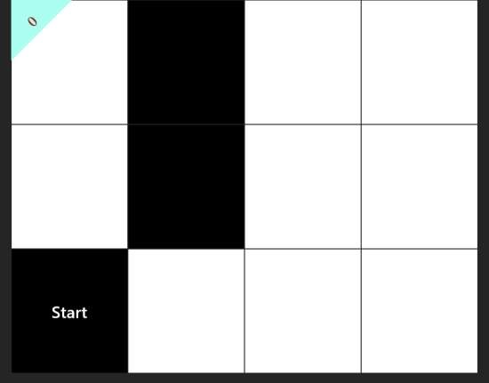 Don't Tap the White Tiles-Play