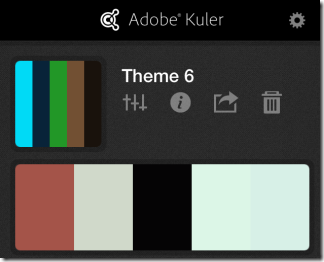 Editing and Sharing Themes In Adobe Kuler