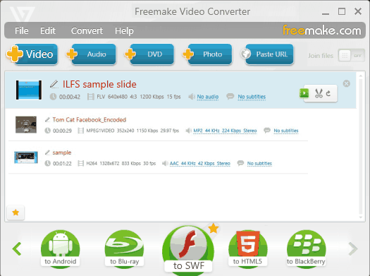 Flash Converter - Freemake Video Converter