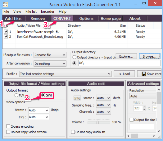 Flash Converter - Pazera Video To Flash Converter